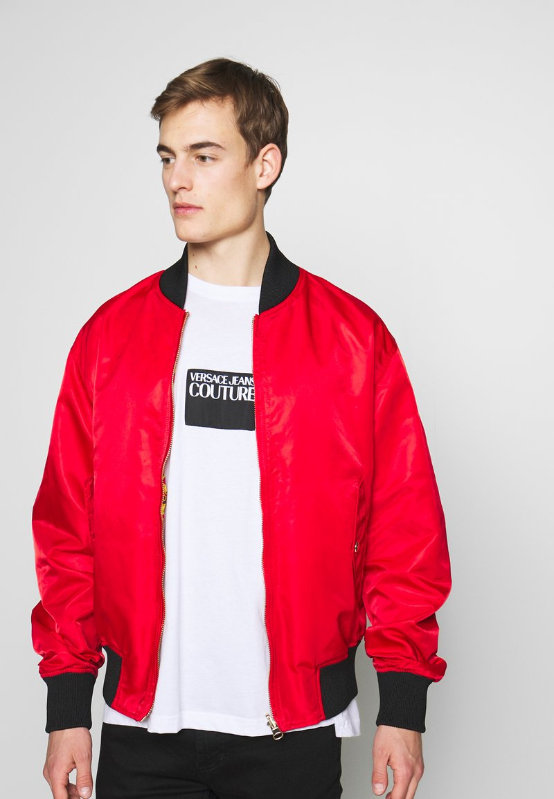 Versace Jeans Couture - REVERSIBLE BOMBER - Bomber Jacket - red