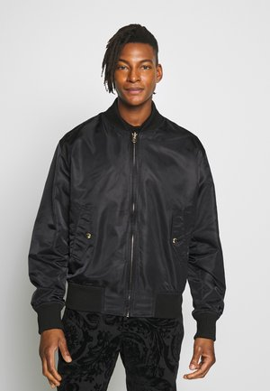 REVERSIBLE BOMBER - Bomber Jacket - black