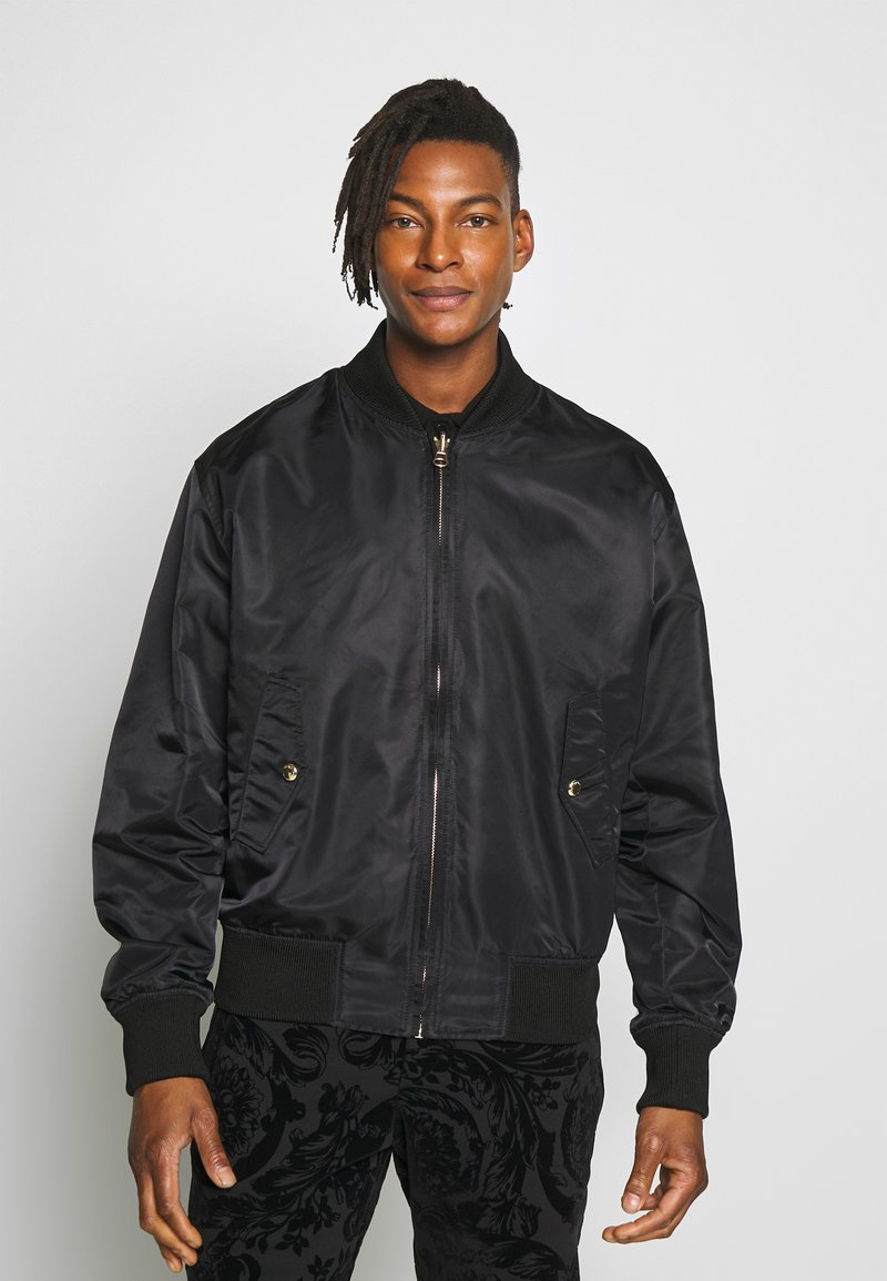 Versace Jeans Couture - REVERSIBLE BOMBER - Bomberjacka - black