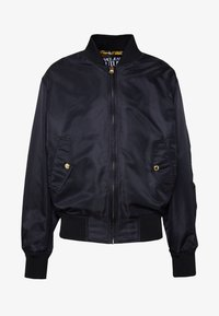 Versace Jeans Couture - REVERSIBLE BOMBER - Bomberjacka - black - 7