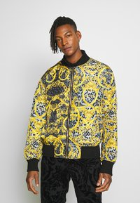 Versace Jeans Couture - REVERSIBLE BOMBER - Bomberjacka - black - 2