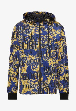 JACKET ALLOVER PRINT - Summer jacket - blue
