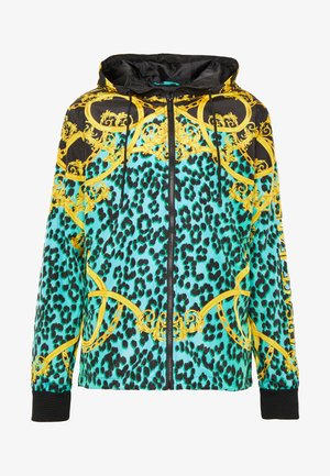JACKET ALLOVER LEO PRINT - Lehká bunda - pure mint