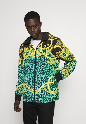 JACKET ALLOVER LEO PRINT - Summer jacket - pure mint