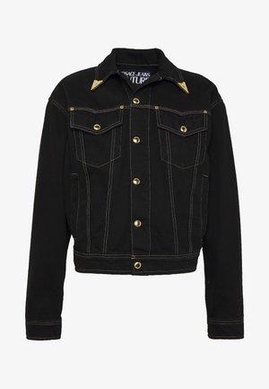 JACKET ICON - Giacca di jeans - black