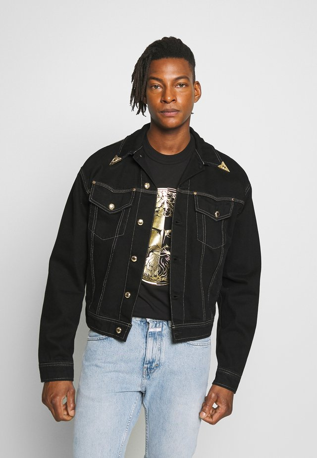 JACKET ICON - Denim jacket - black