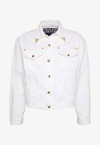 Versace Jeans Couture - JACKET ICON - Džínová bunda - white - 4