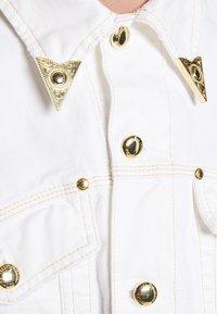 Versace Jeans Couture - JACKET ICON - Džínová bunda - white - 5