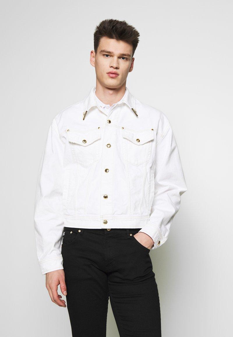 Versace Jeans Couture - JACKET ICON - Džínová bunda - white