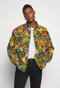 Versace Jeans Couture - JACKET ALLOVER PRINT - Jeansjacke - multi - 0
