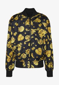 Versace Jeans Couture - ALLOVER GIOIELLI REVERSIBLE - Summer jacket - black - 7