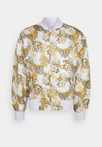 Versace Jeans Couture - RISTOP PRINTED LOGO BAROQUE - Bomber Jacket - bianco ottico - 0