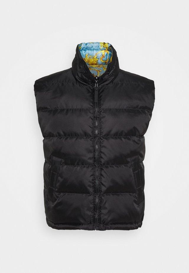 RISTOP PRINT BAROQUE - Vest - black