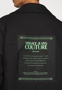 Versace Jeans Couture - DIAGONAL COAT MIRO - Zimní kabát - nero - 5