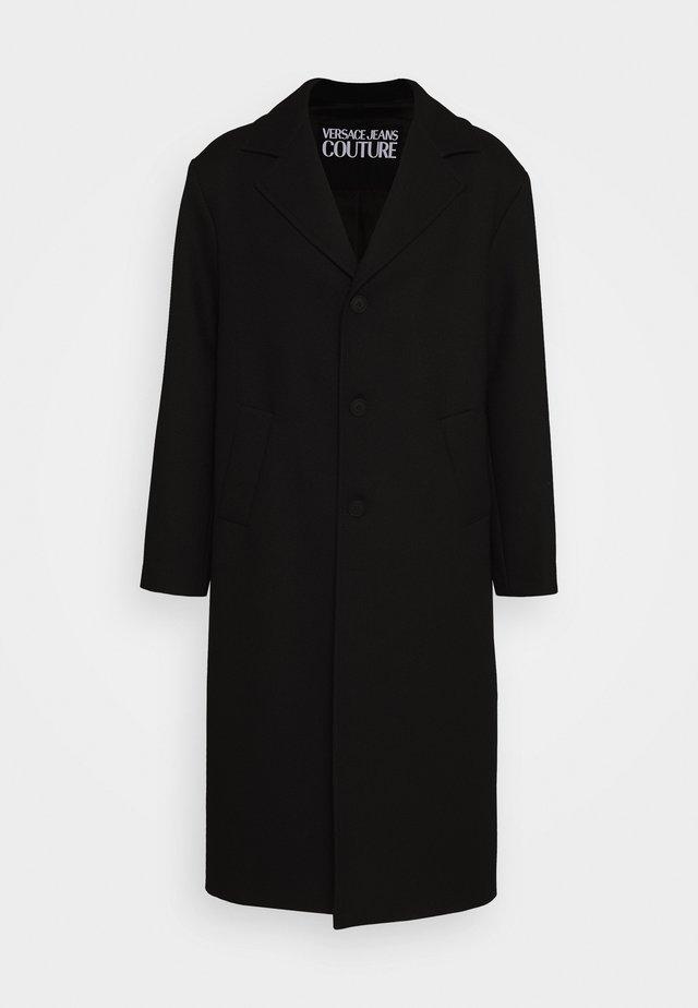 DIAGONAL COAT MIRO - Zimní kabát - nero