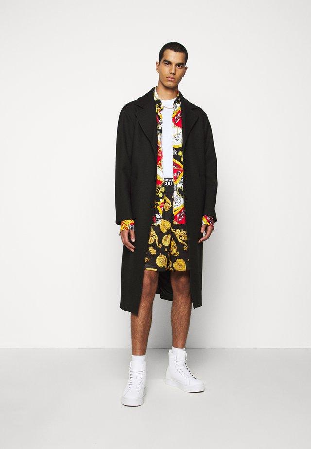 DIAGONAL COAT MIRO - Classic coat - nero