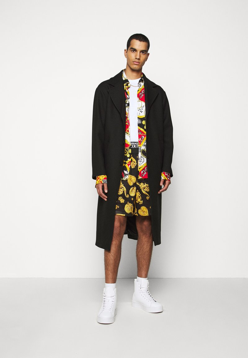 Versace Jeans Couture - DIAGONAL COAT MIRO - Zimní kabát - nero