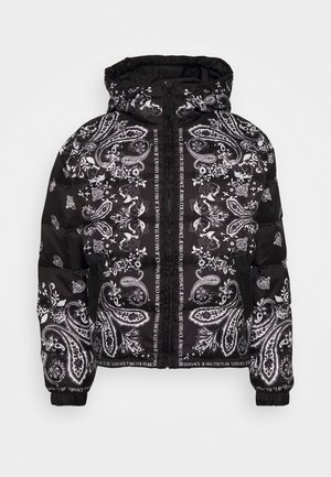 RIPSTOP PRINTED PAISLEY - Down jacket - nero
