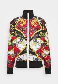 Versace Jeans Couture - PRINT BELT PAISLE - Bomberjacks - rosso - 4