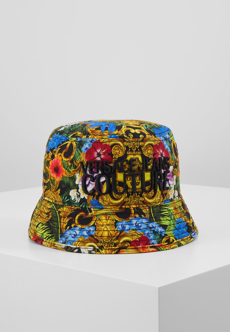 Versace Jeans Couture - BAROQUE PRINTED BUCKET HAT - Hat - multi-coloured