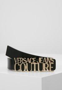 Versace Jeans Couture - LOGO BELT - Gürtel - nero - 0