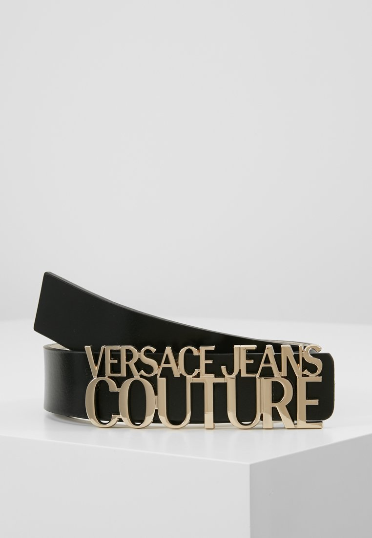 Versace Jeans Couture - LOGO BELT - Cintura - nero
