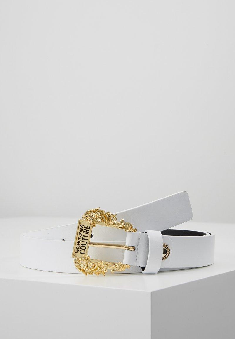 Versace Jeans Couture - BELT - Gürtel - bianco ottico