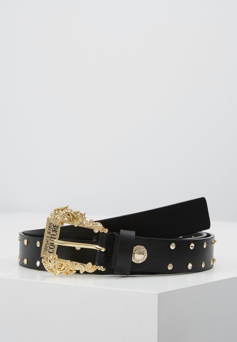 Versace Jeans Couture - VITELLO SIDNEY - Skärp - black