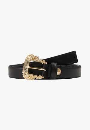 BAROQUE PRINT REGULAR BELT - Belte - black