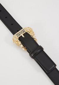 Versace Jeans Couture - BAROQUE PRINT REGULAR BELT - Pásek - black - 5