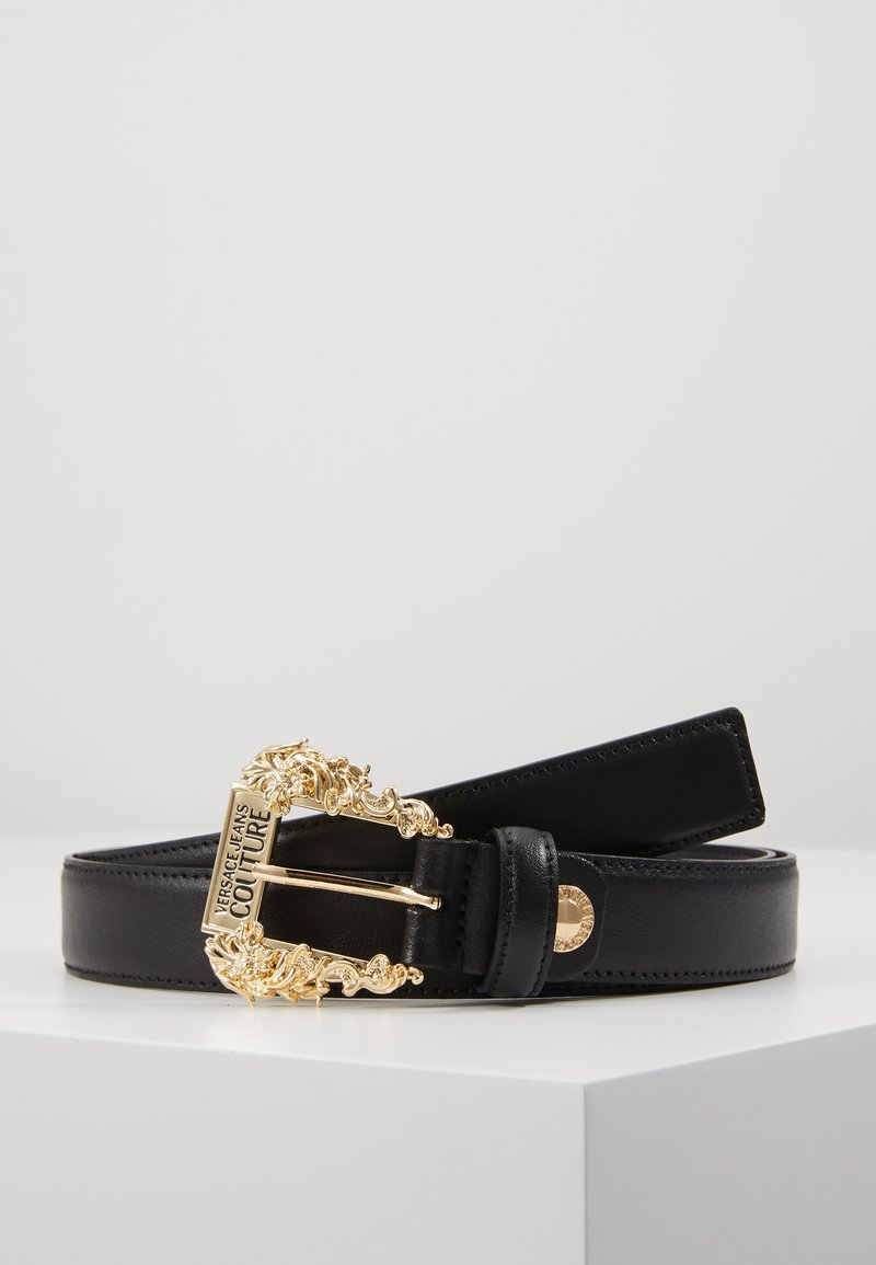 Versace Jeans Couture - BAROQUE PRINT REGULAR BELT - Cintura - black