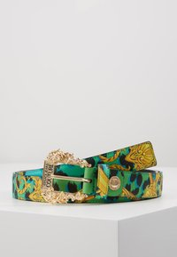 Versace Jeans Couture - BAROQUE PRINT REGULAR BELT - Belt - frog - 0