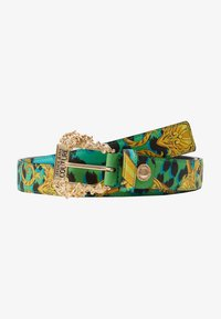 Versace Jeans Couture - BAROQUE PRINT REGULAR BELT - Belt - frog - 4