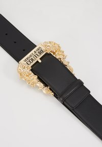 Versace Jeans Couture - WIDE BAROQUE BUCKLE BELT - Cintura - black - 2