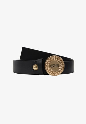 CIRCLE LOGO BELT - Riem - black