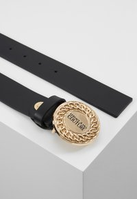 Versace Jeans Couture - CIRCLE LOGO BELT - Pásek - black - 2