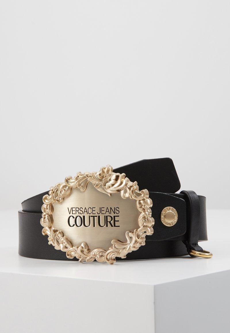 Versace Jeans Couture - RODEO BAROQUE REGULAR BELT - Gürtel - black