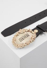 Versace Jeans Couture - RODEO BAROQUE REGULAR BELT - Pasek - black - 2