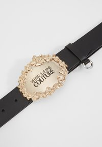 Versace Jeans Couture - RODEO BAROQUE REGULAR BELT - Gürtel - black - 4