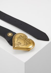 Versace Jeans Couture - HEART BELT REGULAR - Pásek - black - 3