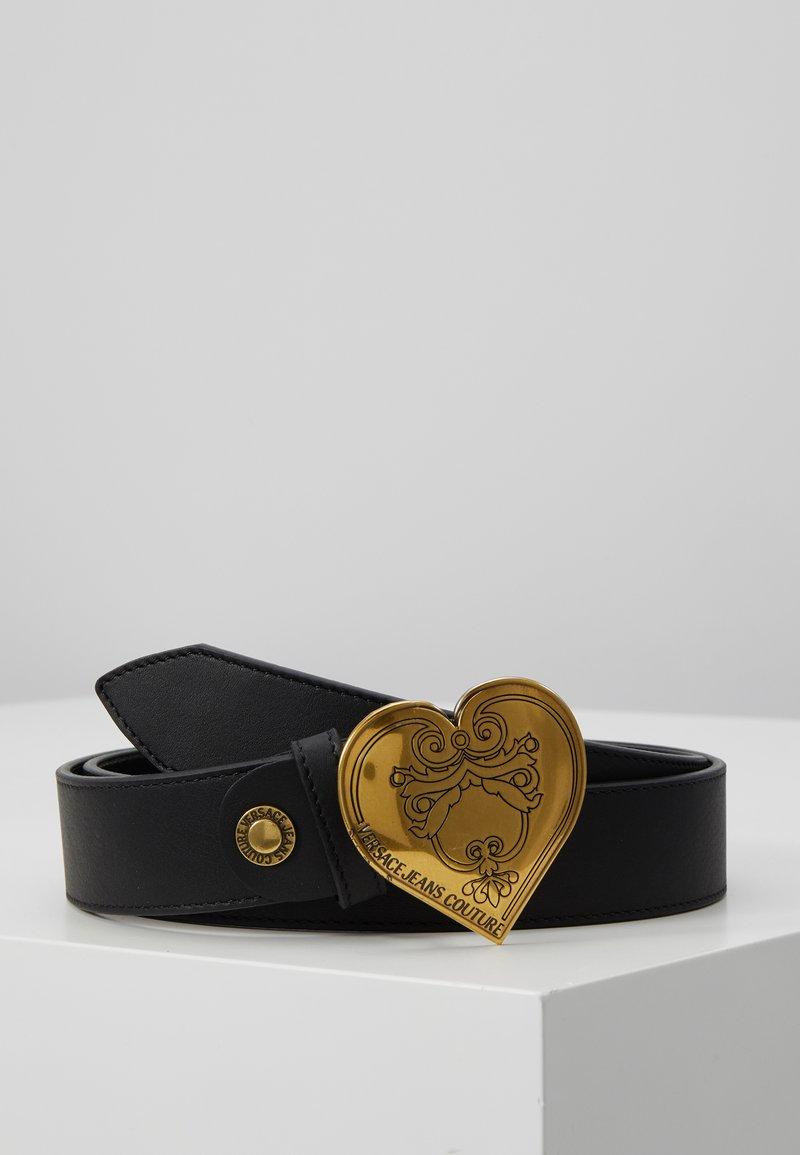 Versace Jeans Couture - HEART BELT REGULAR - Pásek - black
