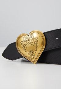 Versace Jeans Couture - HEART BELT REGULAR - Pásek - black - 2