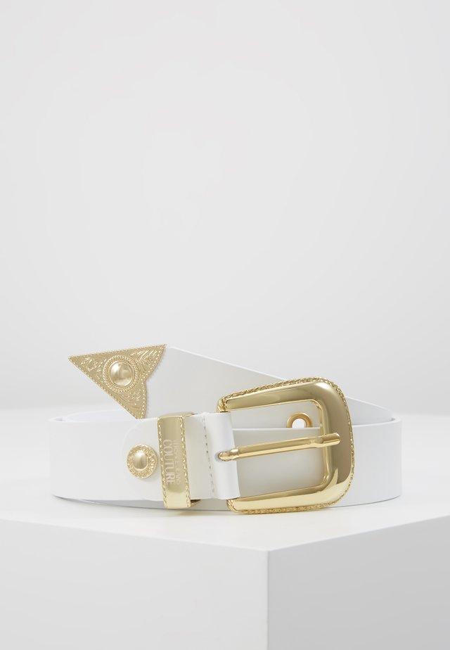 BUCKLE - Belt - bianco