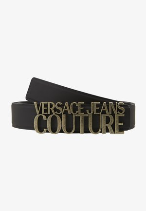 COUTURE LOGO BELT - Skärp - nero