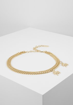 CHAIN LAYERED CHARM BELT - Pulsera - gold-coloured