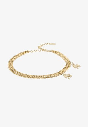 CHAIN LAYERED CHARM BELT - Náramek - gold-coloured