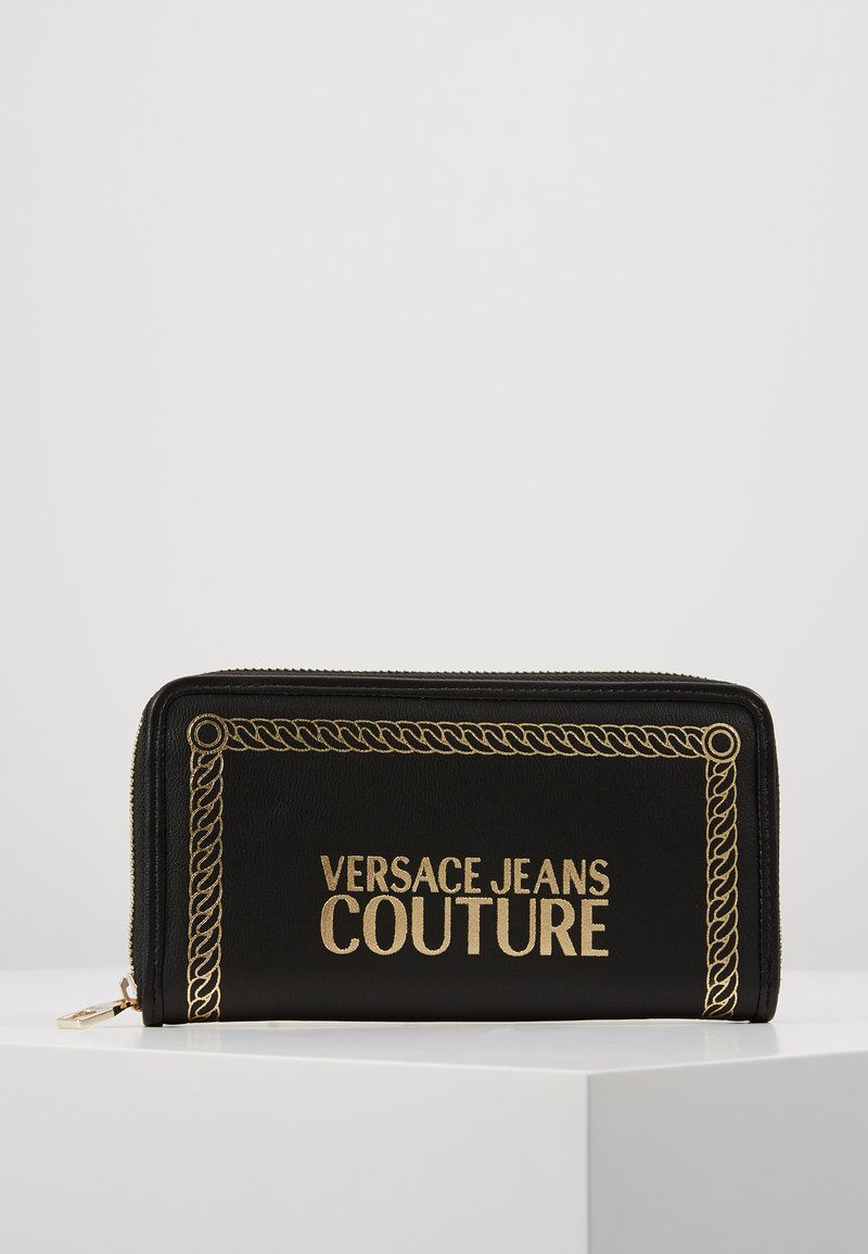 Versace Jeans Couture - PRINT WALLET - Portefeuille - black