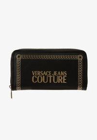 Versace Jeans Couture - PRINT WALLET - Portefeuille - black - 1
