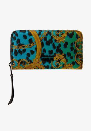 LEOPARD BAROQUE ZIP AROUND - Wallet - frog