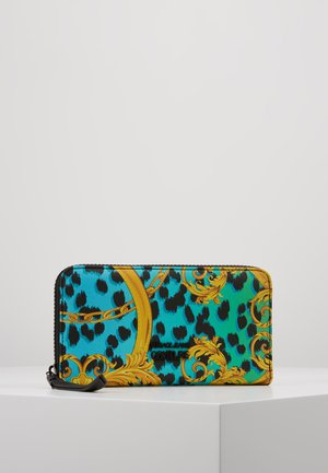 LEOPARD BAROQUE ZIP AROUND - Portemonnee - frog